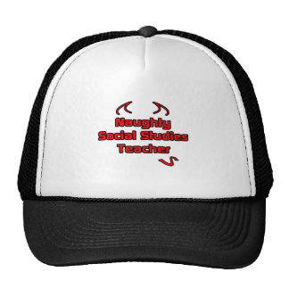 Naughty Social Studies Teacher Hats