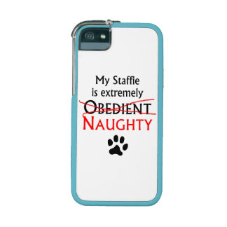 Naughty Staffie iPhone 5 Case
