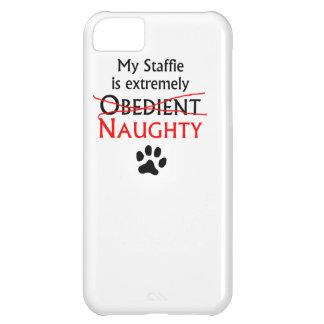 Naughty Staffie iPhone 5C Cases
