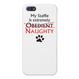 Naughty Staffie iPhone 5 Covers
