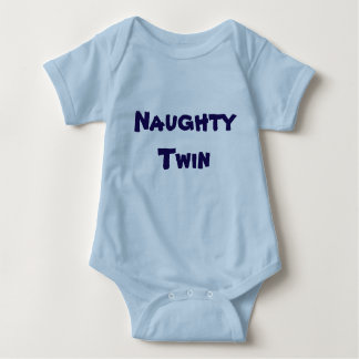 Naughty Twin / Nice Twin - (Part 1 of 2) Baby Bodysuit
