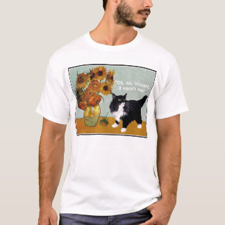 Naughty Van Gogh Cat T-Shirt