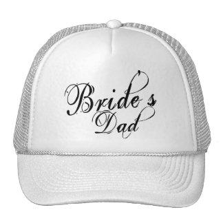 Naughy Grunge Script - Bride's Dad Black Hat