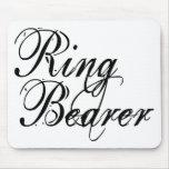 Naughy Grunge Script - Ring Bearer Black