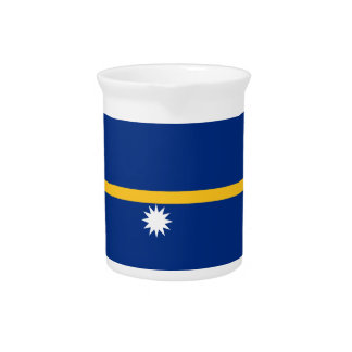 Nauru Flag Pitcher