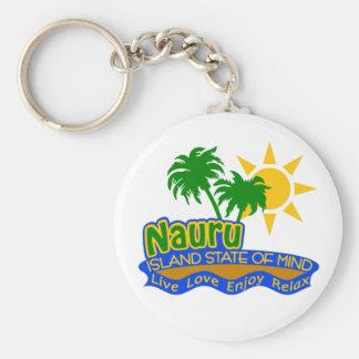 Nauru State of Mind keychain