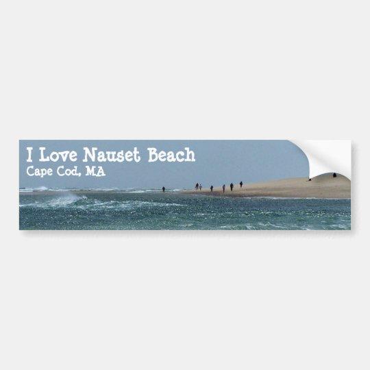 Nauset Light Beach Bumper Sticker