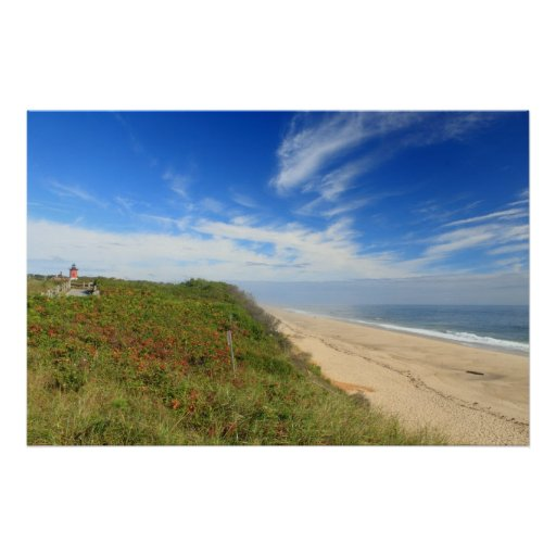Nauset Lighthouse Beach Cape Cod National Seashore Poster
