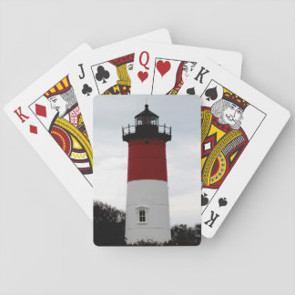 Nauset lighthouse poker deck