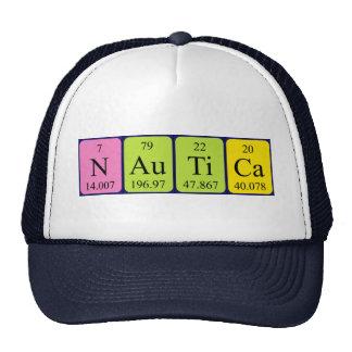 Nautica periodic table name hat