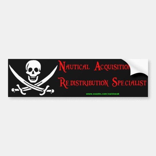 Nautical Acquisition Bumper Sticker