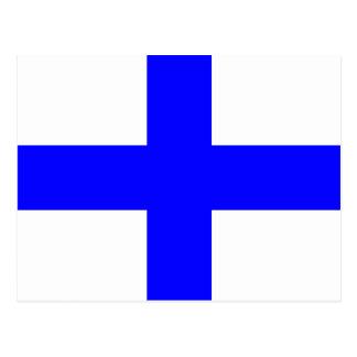 Nautical Alphabet Flag Signal Letter X Postcard
