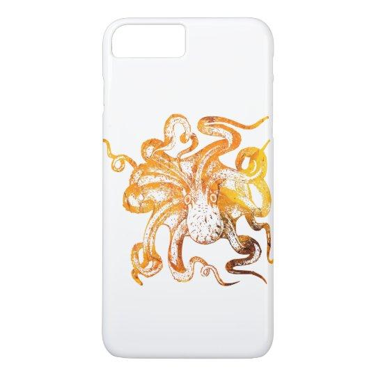 Nautical amber octopus iPhone 8 plus/7 plus case