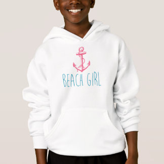 "Nautical Anchor ""Beach Girl"""
