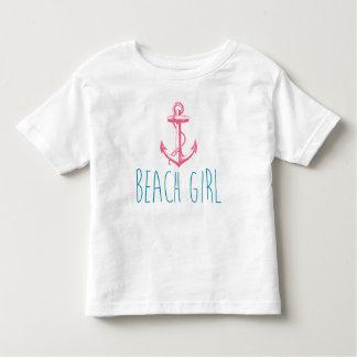 "Nautical Anchor ""Beach Girl"" Toddler T-Shirt"