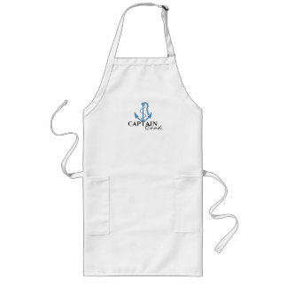 Nautical Anchor-Captain Cook Long Apron