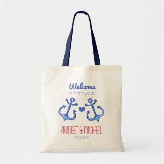Nautical Anchor   Destination Wedding Welcome Bag