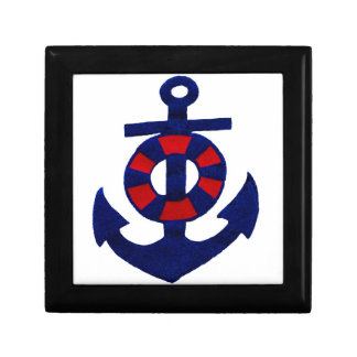 Nautical Anchor Gift Box