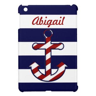 Nautical Anchor iPad Mini Case