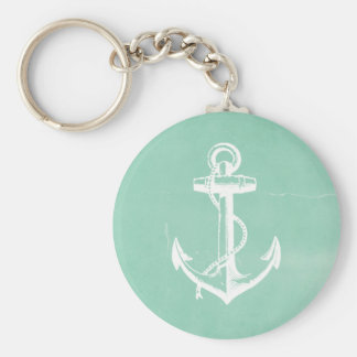 Nautical Anchor Key Ring