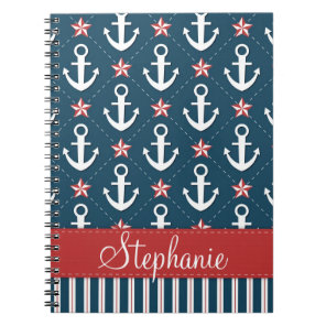 Nautical Anchor Notebook