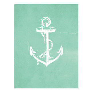 Nautical Anchor Postcard