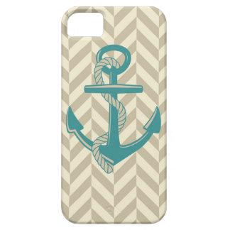 Nautical Anchor Print Design Boat Ocean Art iPhone 5 Cases