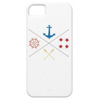 Nautical Anchor Sail Sailing Boat IPHONE 5 Case
