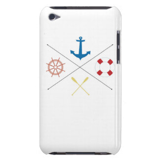 Nautical Anchor Sail Sailing Boat Ore IPOD Touch iPod Touch Covers