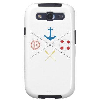 Nautical Anchor Sail Sailing Samsung Galaxy S3 Galaxy SIII Case