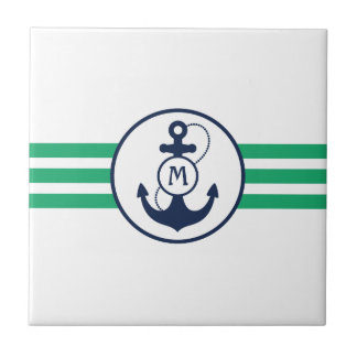 Nautical Anchor Tile
