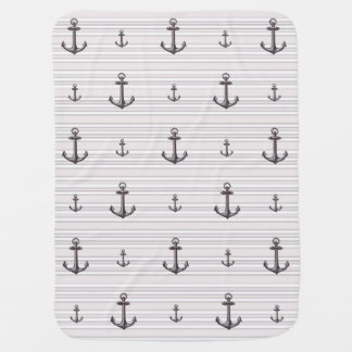 Nautical * Anchors Aweigh * Baby Blanket