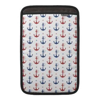 Nautical Anchors MacBook Sleeve