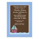 Nautical Baby Shower Invitation 13 Cm X 18 Cm Invitation Card