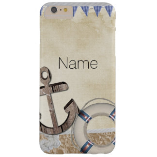 Nautical Barely There iPhone 6 Plus Case