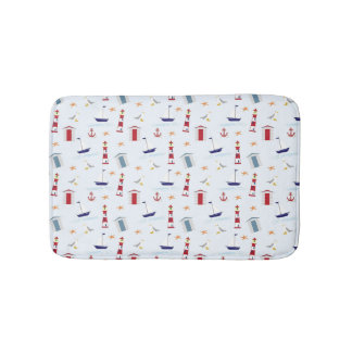 Nautical Bath Mat