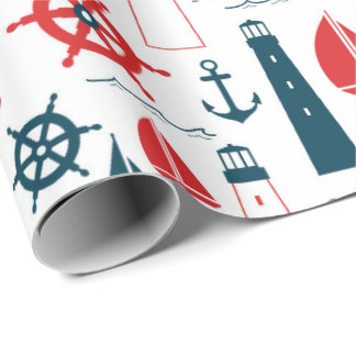nautical wrapping paper Looking for the perfect gift wrapping paper for any occasion buy your gift wrap roll online now.
