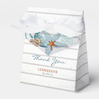 Nautical Beach   Wedding Favor Box