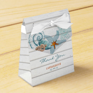 Nautical Beach | Wedding Favor Box Favour Box