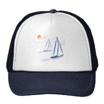 Nautical Bits Coastal Sailing Yachts Cap