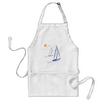 Nautical Bits Coastal Sailing Yachts Standard Apron