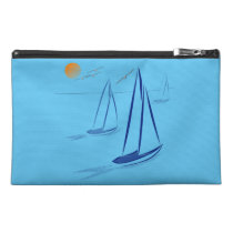 Nautical Bits Coastal Sailing Yachts Travel Accessory Bag