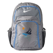 Nautical Bits Sailing Yacht with Reflection Backpack