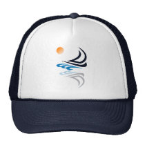 Nautical Bits Sailing Yacht with Reflection Cap