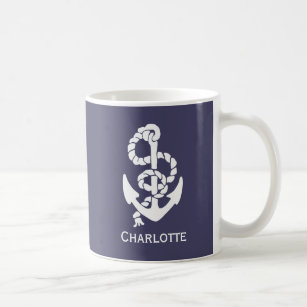 Nautical Rope Coffee Travel Mugs Zazzle Uk