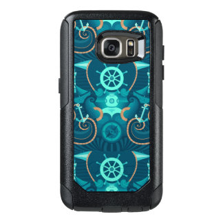 Nautical Blue Design OtterBox Samsung Galaxy S7 Case