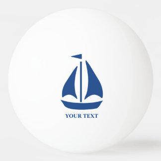 Nautical Blue Sailboat preppy personalized