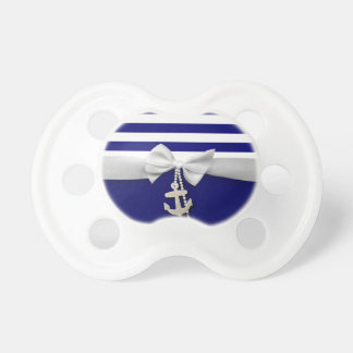 Nautical blue stripe white ribbon & charms graphic dummy