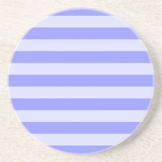 Nautical Blue Stripes Coaster