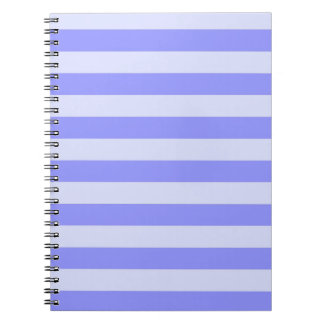 Nautical Blue Stripes Notebook